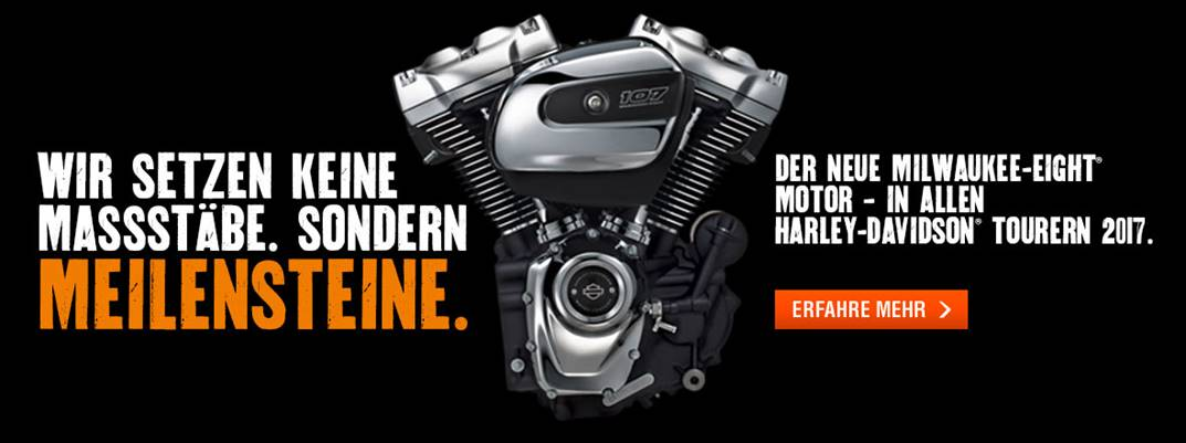 Der neue Milwaukee-Eight Motor!