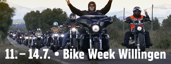 11.-14. Juli: Bike Week Willingen